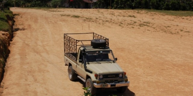 Arrival in Honduras – February 21, 2015